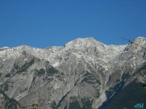 Panorama sulle Alpi tirolesi