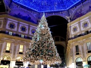 Albero di Natale di Galleria Vittorio Emanuele