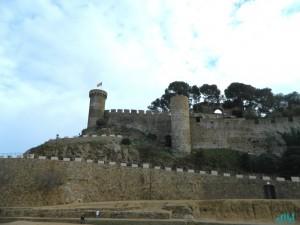 La cinta muraria di Tossa del Mar
