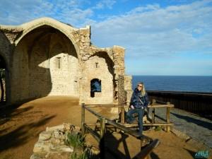 I resti della Parrocchiale gotica di Tossa del Mar