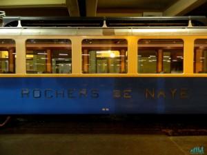 Treno a cremagliera per Rochers de Naye