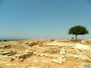 I restii del tempio di Afrodite vicino Paphos