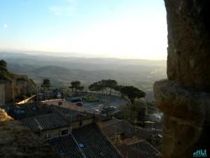 Veduta dal Palazzo dei Priori di Volterra