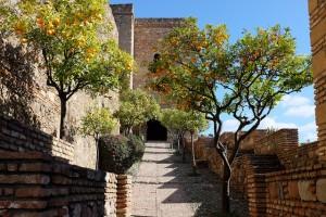 Salita all'Alcazaba di Malaga