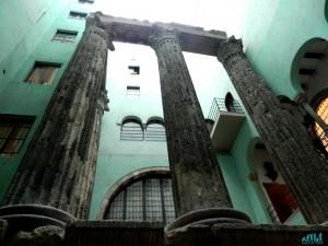 viaggio a Barcellona: tempio di augusto