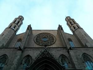 Viaggio a Barcellona con i bambini: santa maria del mar