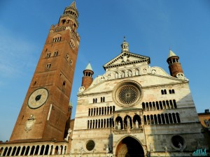 Il Duomo ed il Torrazzo di Cremona