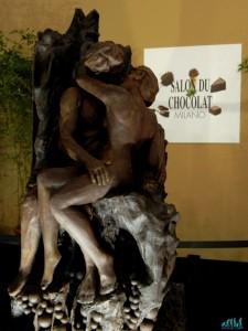 il Bacio di Rodin al cioccolato
