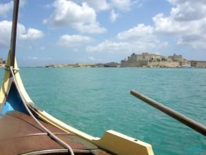 Giro in barca nel porto di Malta