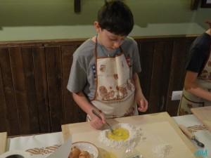 Laboratori di pasta fresca per bambini Cà Pelletti