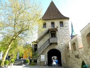 Ingresso del castello di Laufen