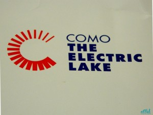 "Il logo del progetto ""Como The Electric Lake"""
