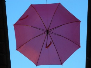 ombrelli volanti
