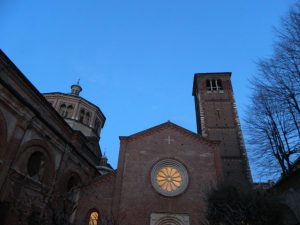 Campanile dei sospiri a Milano