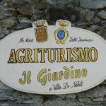 AGRITURISMO IL GIARDINO A VILLA DE NOBILI A VEZZANO LIGURE