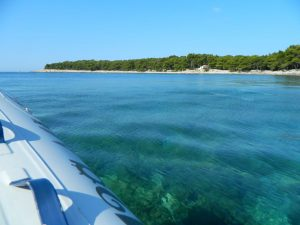 l'isola sabbiosa di Susak