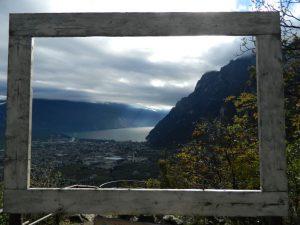 Canale di Tenno-punto panoramico grom