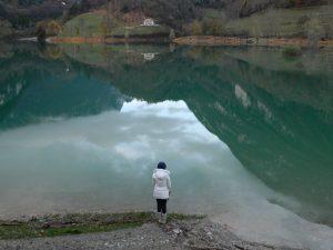 canale di Tenno_il lago di tenno