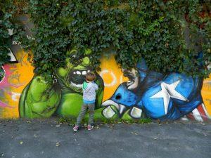 la street art del qaurtiere ortica di milano