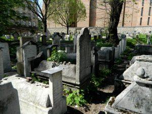 i quartieri di cracovia: il cimitero ebraico