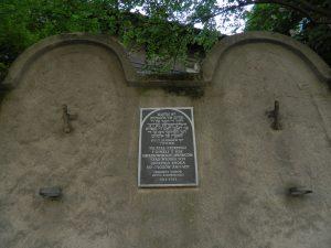 i quartieri di Cracovia: il muro del ghetto ebraico