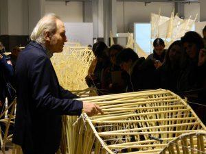 Theo jansen al museo leonardo da vinci di Milano