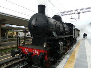 Larioexpress: treno a vapore da Milano a Como