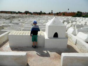 il cimitero ebraico di marrakech