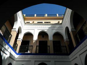 cos'è un riad marocchino-la struttura tipica