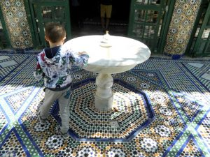 giardino del palazzo bahia a marrakech