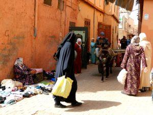 il quartiere ebraico di marrakech