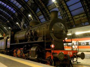 larioexpress treno a vapore da milano a como
