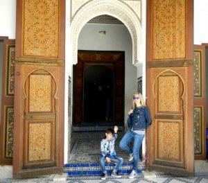 palazzo Bahia a Marrakech nel quartiere ebraico
