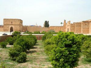 agrumeto di el badi-kasbah di marrakech