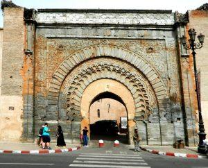 la porta bab agnaou conduce alla kasbah di marrakech