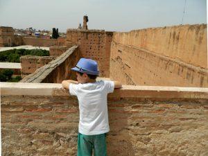 la terrazza di el badi-kasbah di marrakech