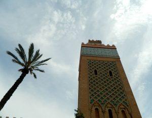 la moschea della kasbah di marrakech