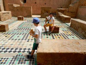 palazzo el badi nella kasbah di marrakech