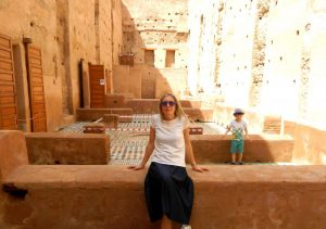 el badi-nella kasbah di marrakech