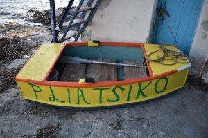 i syrmata dell'isola di milos