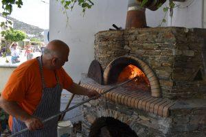 forno a legna di Cyclades