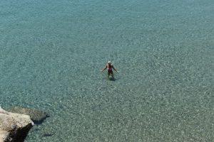 la spiaggia di apokofto