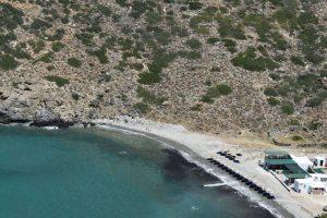 la spiaggia di vrouladia a Sifnos