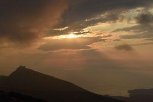 tramonto a sifnos da Agios Simeon