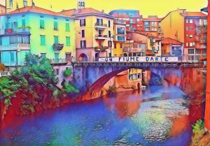 Un fiume d'arte a Ponte San Pietro