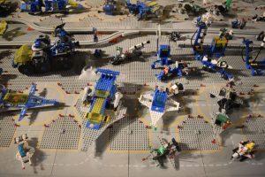 i love lego milano-diorama insediamento lunare