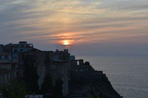 tramonto a pizzo calabro