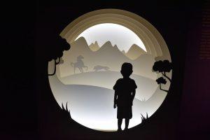 il percorso di visita della mostra di tesla a milano