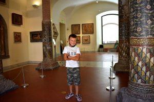 Al museo archeologico di napoli con i bambini