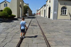 archeologia industriale al museo delle ferrovie